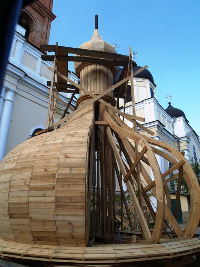 Изготовление деревянного купола на часовню своими руками